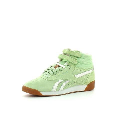 Reebok F/S HI SUEDE V55551 Damen Leichtathletikschuhe Vert