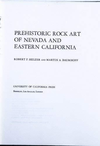 (Prehistoric Rock Art of Nevada and Eastern California)