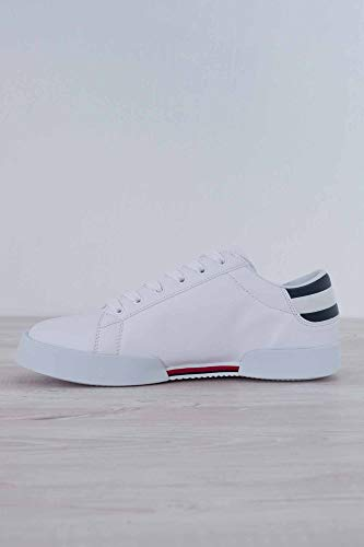 Numero Tommy Bianche con Logo 41 Sneakers Uomo Jeans FgqWAnrgY