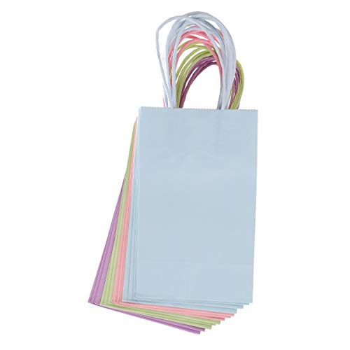 Darice 30071304 Small Gift Bag: Pastel, 5 x 8 inches, 13 Pieces, Assorted