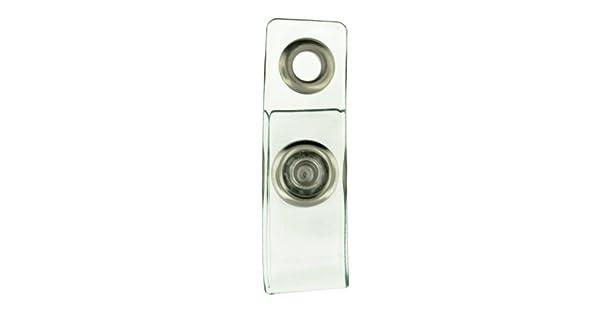 Amazon.com: Plástico Transparente Badge Holder correa de ...