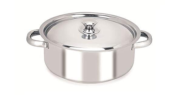 Amazon.com: Chef Direct Cacerola de acero inoxidable con ...
