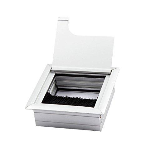 dealmux-pc-computer-liga-de-alumnio-desk-quadrado-cable-grommet-buraco-da-tampa-tom-de-prata
