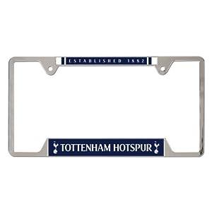 WinCraft Tottenham Hotspurs Metal Chrome License Plate Frame