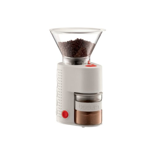 Bodum BISTRO electric coffee grinder off-white 10903-913 by Bodum