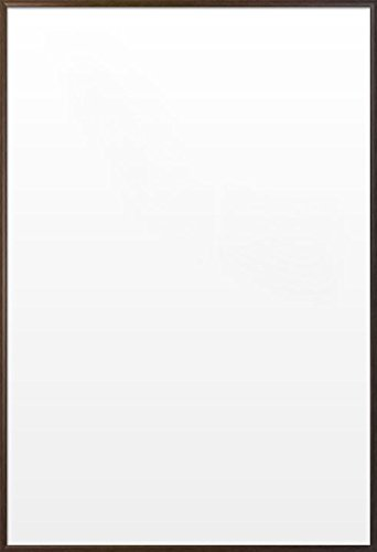 Premium Walnut Wood Decor - Aluminum Poster / Print Frame (Size: 27'' x 40'')
