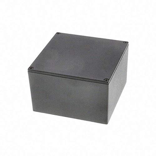 Enclosures /& Cases 5.72 x 4.77 x 1.39 BLACK Boxes