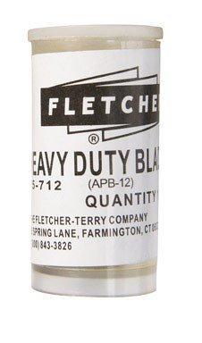 Fletcher Cutting Blade Fsc Acrylic Blades Tube / 10