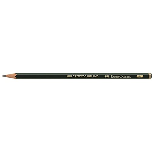 Faber-Castell 119016 – (Graphite Pencils 6H Graphite Pencil 6H 1Pièce (S), Grey, Hexagonal, 1 pc (S))