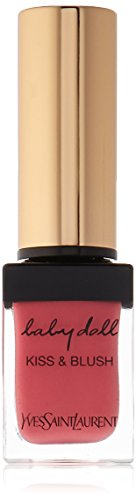 - Yves Saint Laurent Baby Doll Kiss and Blush Lip Gloss for Women, No. 2 Rose Frivole, 0.33 Ounce
