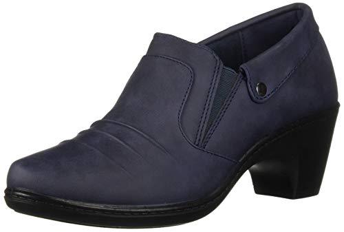 Easy Street Women's Bennett Ankle Bootie, Navy, 8.5 M US from Easy Street