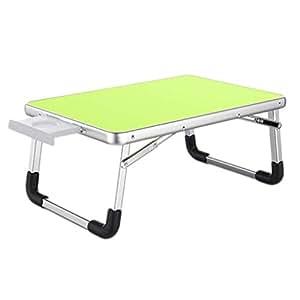 Amazon.com: Mesa de escritorio para portátil, mesa plegable ...