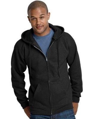 Hanes Mens Ultimate Cotton® Heavyweight Full Zip (Hooded Zip)