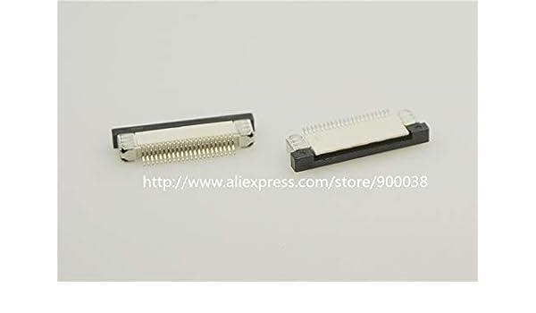 Ochoos 10pcs FPC Conector 0.50 mm 0.020