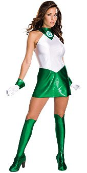 Secert Wishes - Green Lantern Costume Size: Extra Small