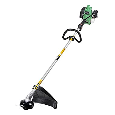 Hitachi CG22EAP2SL 21.1cc 2-Cycle Gas Powered Solid Steel Drive Shaft String Trimmer/Brush Cutter