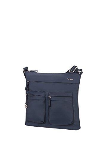 Samsonite Move 2 Mini Shoulder Bag iPad Borsa Messenger, 30 cm, Dark Blue