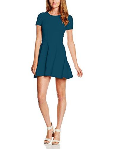 Les Sophistiquees Abito Smanicato con Gonna a Campana, Vestido para Mujer Verde (Verdone)