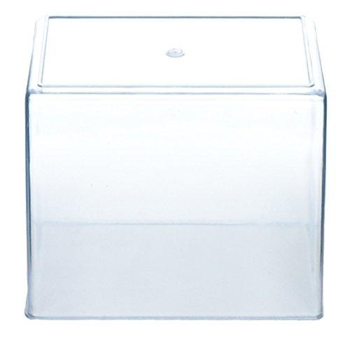 Molded Plastic Aquarium Tank Small .75 Gallon Capacity 7 x 6 x 4.25