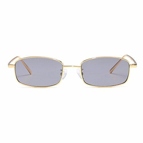 Sol de Personalidad Intellectuality D Retro Mujer Gafas Ojos los a polarizadas la Gafas Sol de de Hombre 1Zqxzq5T