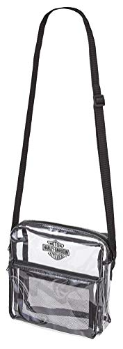 rity Messenger Bag Sling Tote, Clear, One Size ()