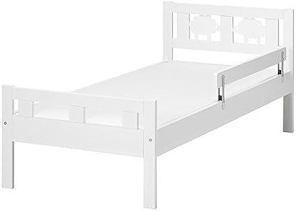Ikea Cama Infantil KRITTER Estructura somier de Blanco ...