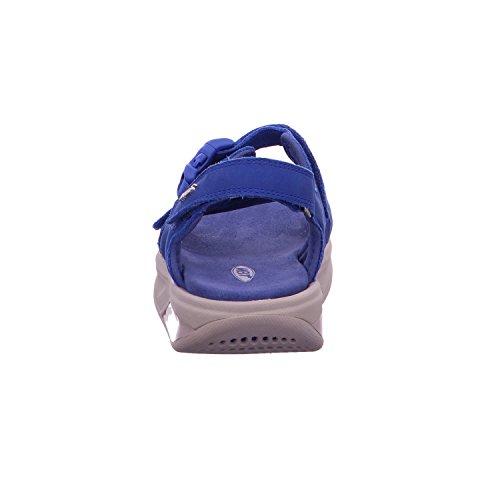 MBT - Sandalias de vestir para mujer azul azul 16