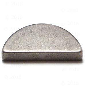 3mm x 5mm Metric Woodruff Key 5 pieces