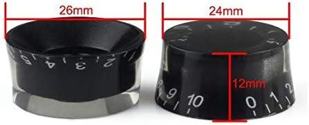 PRINDIY 2 Piezas de perillas de sujeci/ón de 40 mm de di/ámetro de Repuesto M10 x 30 mm de sujeci/ón en Forma de Estrella