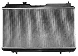 01 Honda Crv Radiator - TYC 2051 Honda CRV 1-Row Plastic Copper/Aluminum Replacement Radiator