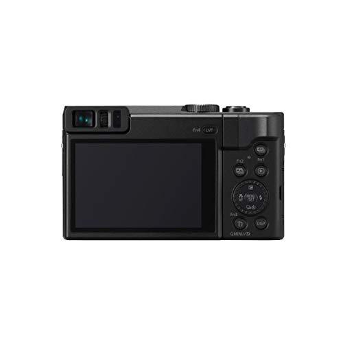 Panasonic LUMIX DC-ZS70K, 20.3 Megapixel, 4K Digital Camera, Touch Enabled 3-inch 180 Degree Flip-Front Display, 30X Zoom (Black), Bag + 16GB SD Card + Mac Software Kit + Cleaning Kit + Card Reader