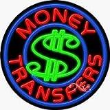 Money Transfers Neon Sign - 26'' x 26''