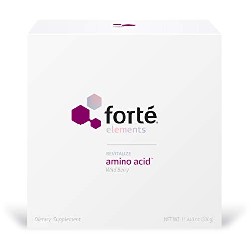 Forte Amino Acid Supplement Powder - Physician Formulated Blend of Glutamine, Arginine, Lysine, Taurine and Serine Supports Intense Exercise and Trauma Recovery (Wild Berry Flavor 30 ()