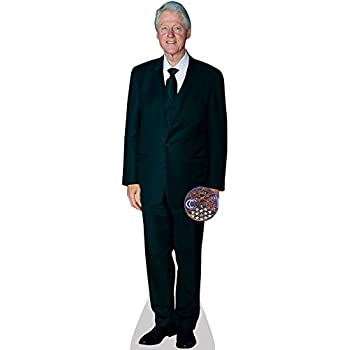 Engraving President Bill Clinton Life Size Carboard Stand Up aahs! 6 feet