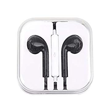 5b33dee0736 Godea 1PCS Headset Earphone With Mic Volume Adjustable For iPhone 8 7 6 6s5  5S 4 4S 4G /Samsung: Amazon.co.uk: Computers & Accessories