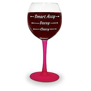 BigMouth Inc. Smart Assy Wine Glass