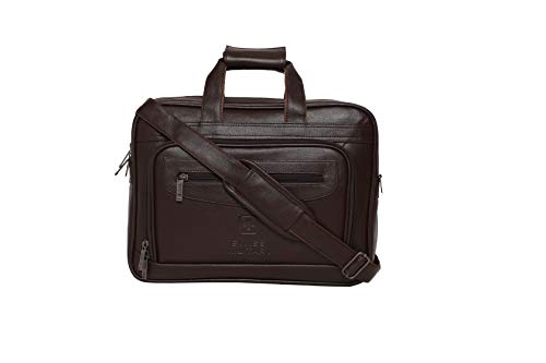 Swiss Military 14 Ltrs Dark Brown Softsided Briefcase (PLB2)