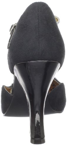 Pleaser Pin Up CoutureSmitt10/bmcsue-bpt - Zapatos con Tacón Mujer Negro (Black)