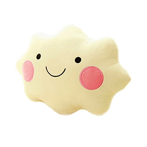 Cute Pillow Cloud Shaped Pillow Sofa Cushions Bowknot Clouds Plush Pillow Office Nap Cartoon Pillows Plush Toys by Finebaby