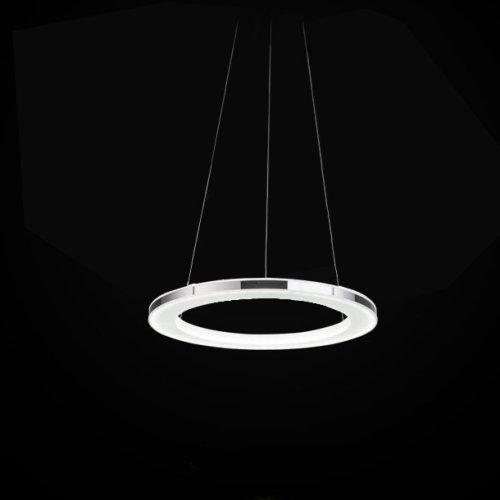LightInTheBox LED Chandelier, Modern Round Iron Acrylic Plating Modern Home Ceiling Light Fixture Flush Mount, Pendant Light Chandeliers Lighting, Voltage=90-240V;Diameters=19 cm