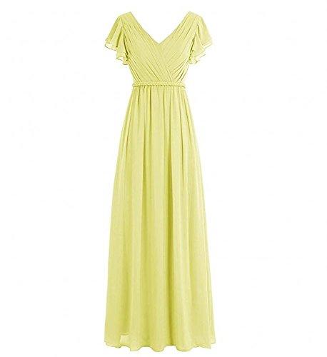 Gelb Kleid Damen Kleid KA Damen Beauty Beauty KA Gelb Beauty Damen KA fw1fxOY