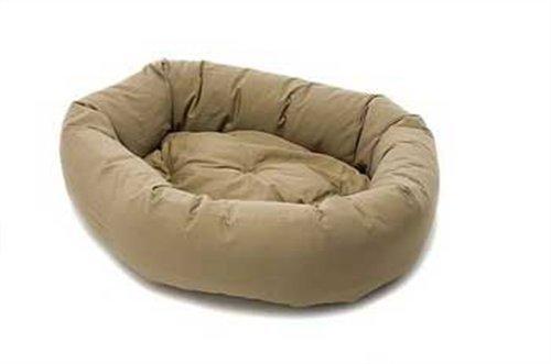 Khaki S Khaki S Dog Gone Smart Donut Bed with Repelz-It, Small, Khaki