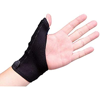 1Pcs Elastic Thumb Wrap Brace Hand Vola Wrist Splint Support Arthritis Pain Sport Training Fixed Correction Sheath Wristband Estimated Price £8.19 -