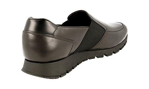 Sneaker In Pelle Prada Mens 4d3013 Cqq F0192