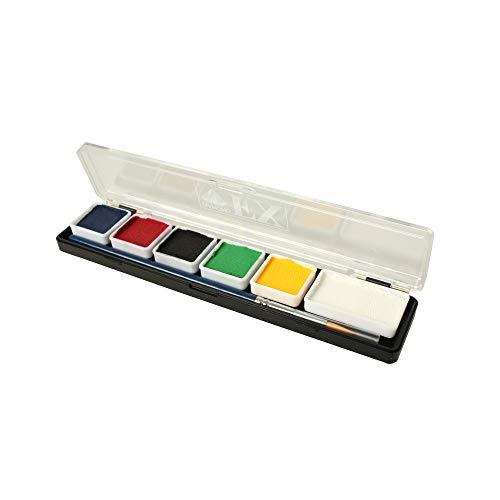 Diamond FX Mini Face Paint Essential Color Pallet.