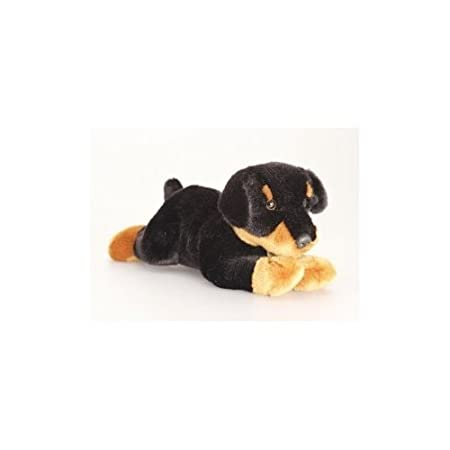 2 X Keel Toys Brown Black Soft Toy Dog Reggie 45cm Plush Co Uk Kitchen Home