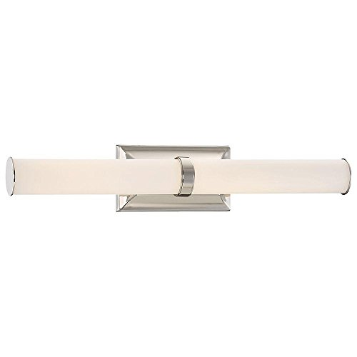 Madison Avenue 23837 Good Lumens Polished Nickel LED Bath Vanity Light