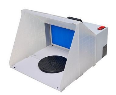 CHIMAERA Hobby Airbrush Paint Spray Booth with Powerful Fan Filter