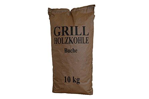 10 kg Grillholzkohle Holzkohle (Buche)