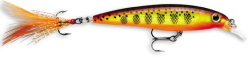 Rapala X-Rap 06 Fishing lure, 2.5-Inch, Hot Mustard Muddler